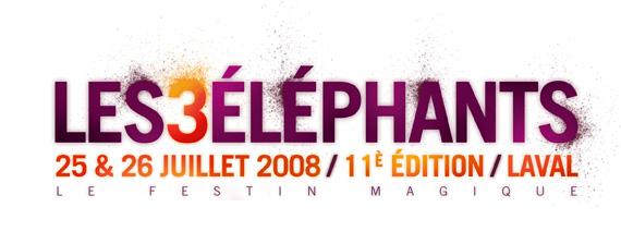 Pour leur 11ème édition, Les 3 éléphants déménagent à Laval !