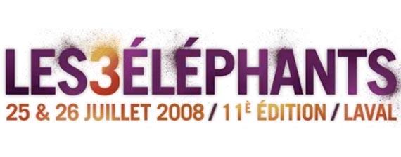 Les 3 éléphants, le festivals tant attendu du mois de juillet