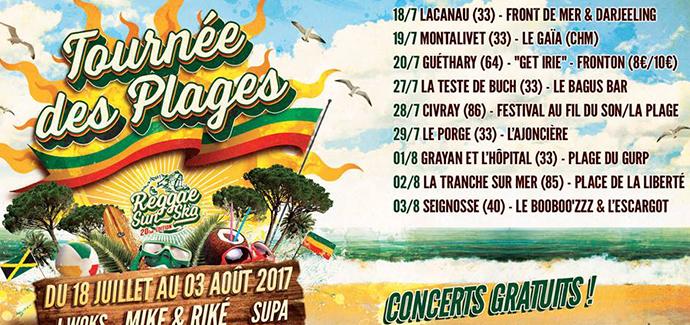 La Tournée des Plages by Reggae Sun Ska