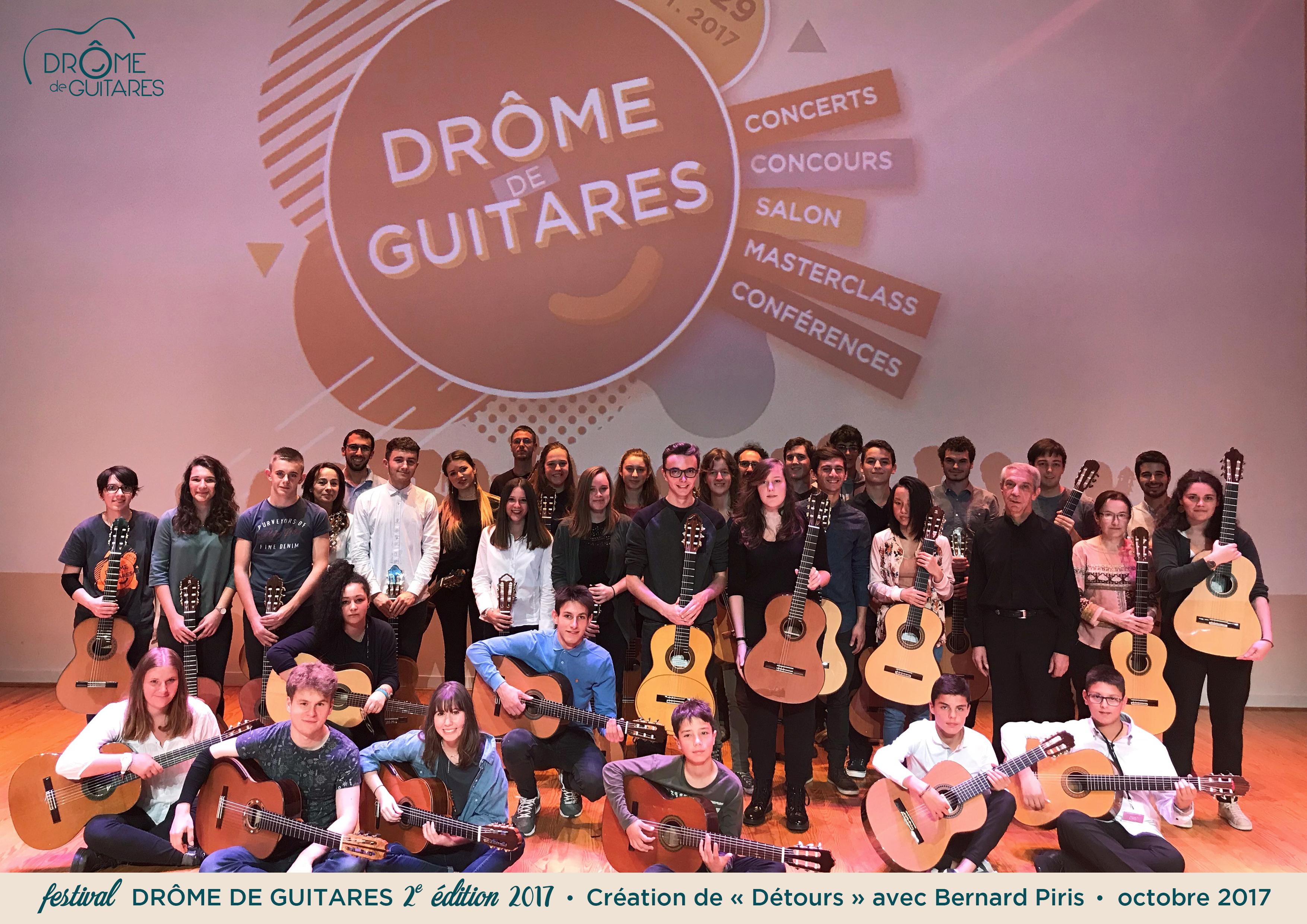 Une 2ème édition réussie pour le festival international Drôme de Guitares.