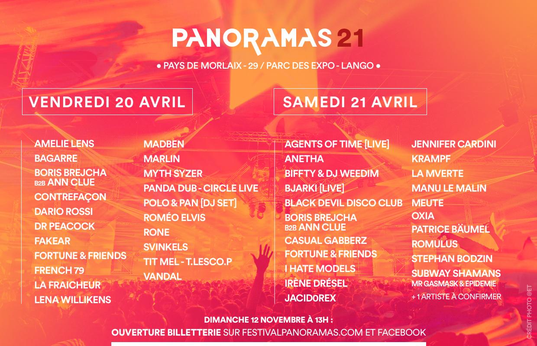 Le festival Panoramas annonce sa programmation complète.