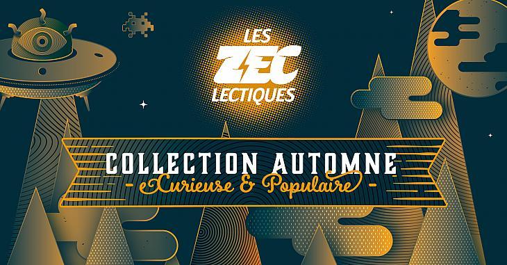 Les Z eclectiques Collection Automne - La Programmation !