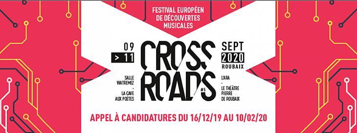 CROSSROADS FESTIVAL : Festival européen de découvertes musicales en ligne