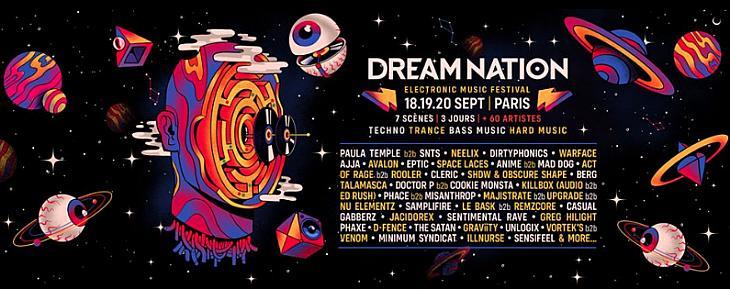 Dream Nation se donne pour mission de réunir, faire danser et rêver des milliers de festivaliers !