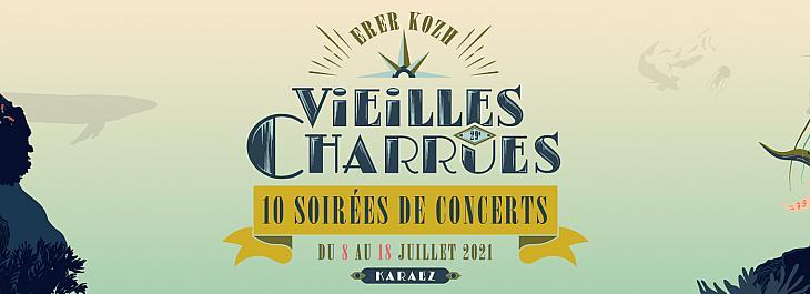 LES 29E VIEILLES CHARRUES EN 10 SOIRÉES DU 8 AU 18 JUILLET 2021