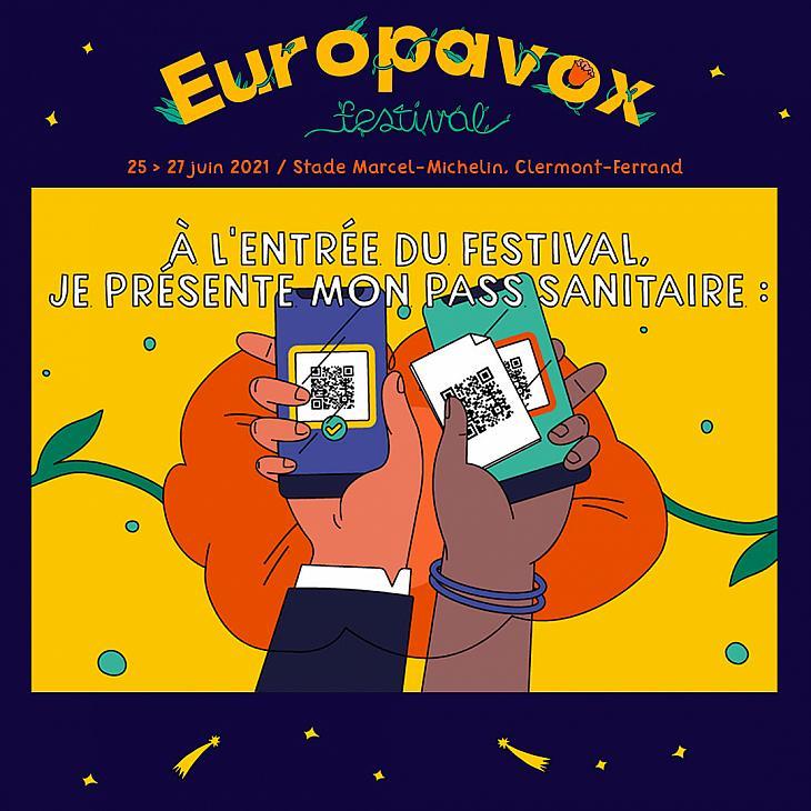 Le pass sanitaire au festival Europavox, toutes les explications.