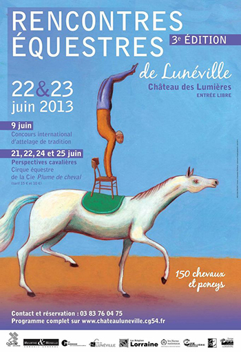 Luneville rencontres equestres