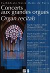 Les concerts d'orgue d'été