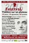 Festival théâtre sur un Plateau