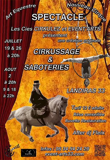 Cirkussage et Saboteries