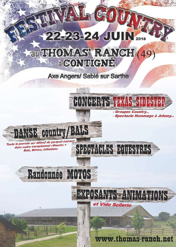 Festival Country au Thomas ranch